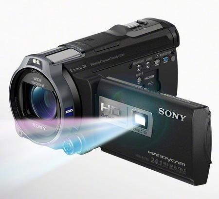 تنظیمات دوربین Sony HDR-PJ260