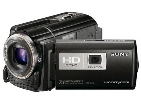 تنظیمات دوربین Sony HDR-PJ50
