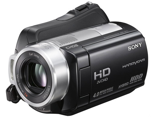 تنظیمات دوربین Sony HDR-SR10