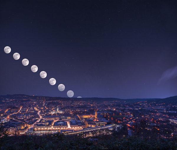 آموزش عکاسی از ماه
